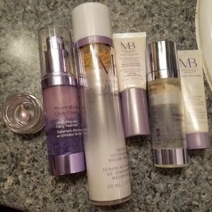 Leftover meaningful beauty products